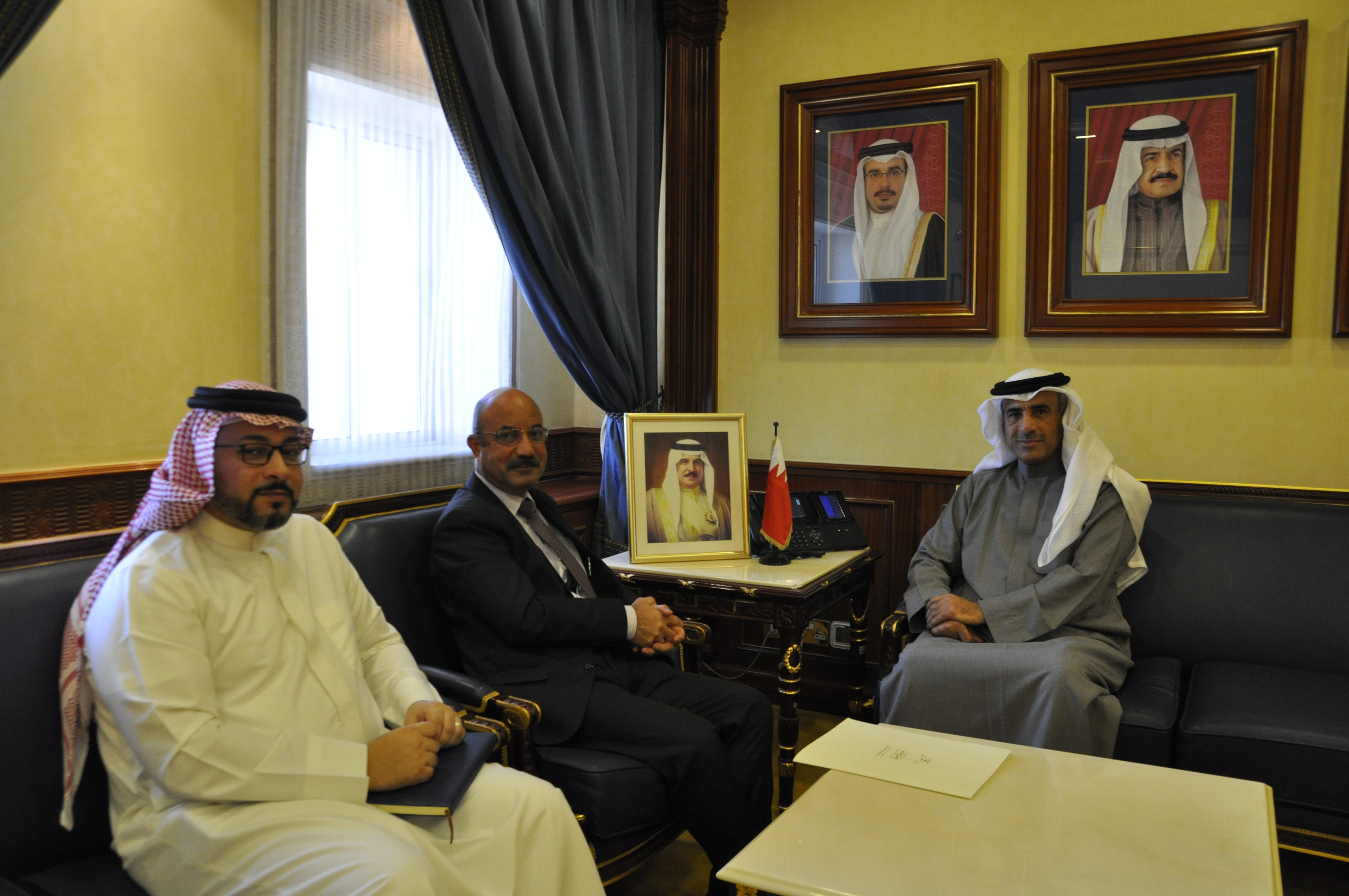 وزير الإسكان يستقبل النائب فلاح هاشم