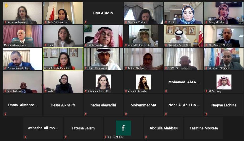 المطوع يؤكد حرص البحرين على استمرار تطبيق الحضرية للموئل