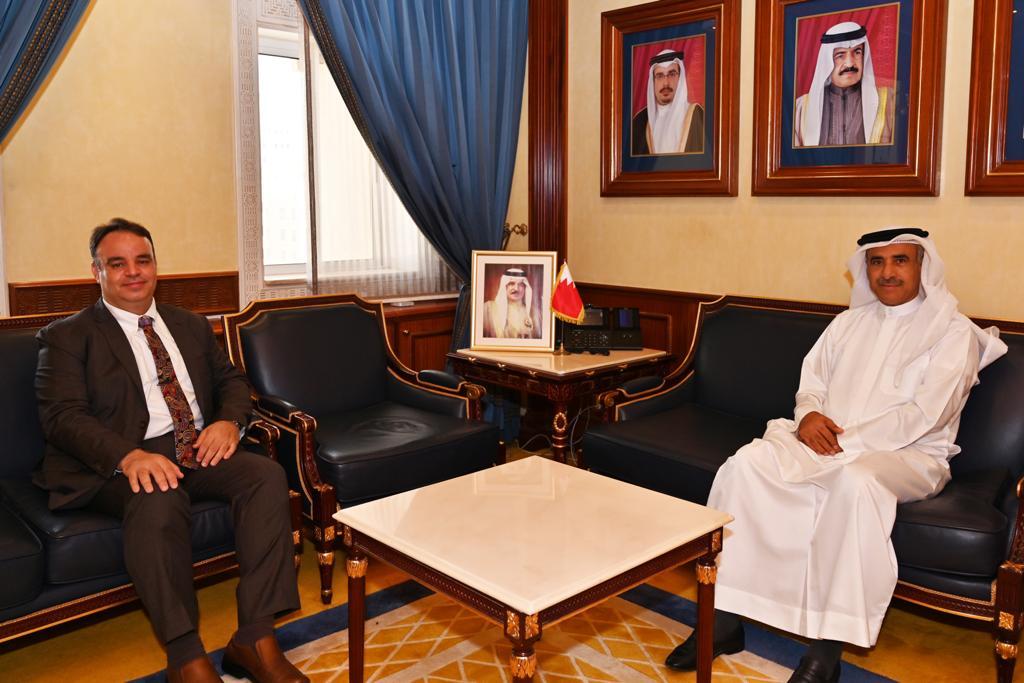 وزير الإسكان يستقبل النائب هشام العشيري