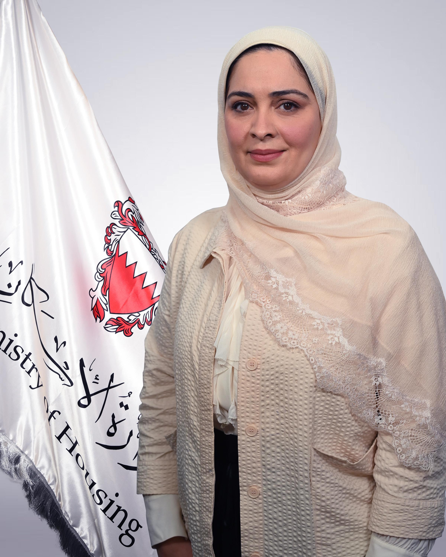 المهندسة بلسم علي عبدعلي السلمان - مدير إدارة تخطيط وتصميم المشاريع الإسكانية