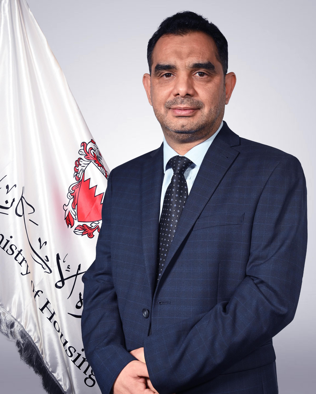 رضا محمد حسن الأدرج -  الوكيل المساعد للمشاريع الإسكانية